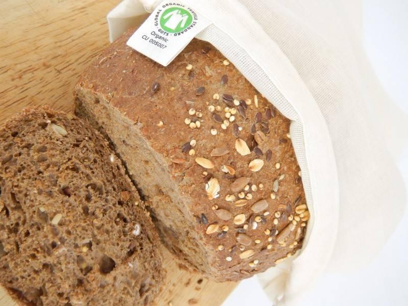Biokatoenen broodzakken