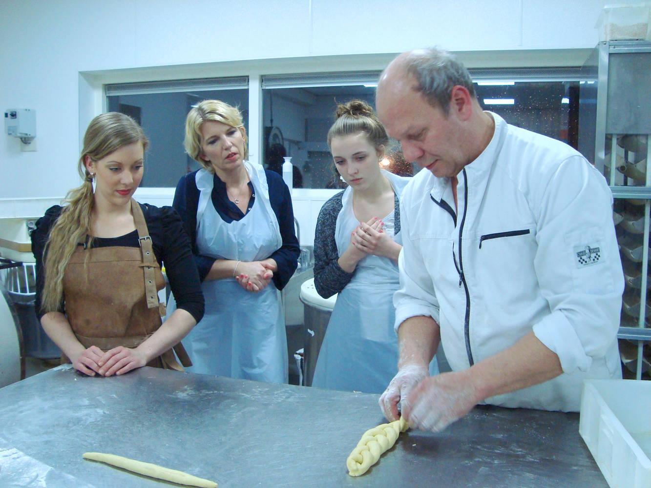 Workshop bij de bakker